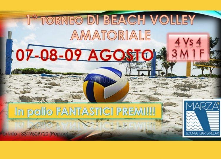 TORNEO BEACH VOLLEY 7-8-9 AGOSTO